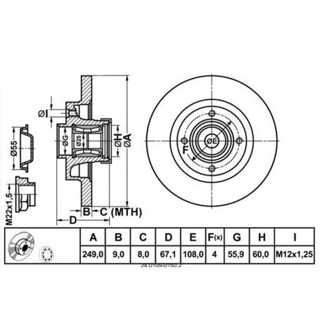 Citroen Brakes Diagram