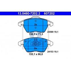 Zavorne ploščice CITROEN C4 I, C4 Coupe, PEUGEOT 207, 208, 308, 3008, RCZ prednje