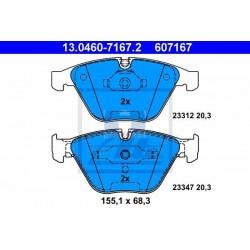 Zavorne ploščice BMW 1 |E82|, 3 |E90|, 5 |E60|, 6 |E63|, 7 prednje
