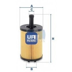 Filter ulja AUDI, CHRYSLER, DODGE, FORD, JEEP, MITSUBISHI, SEAT, ŠKODA, VW