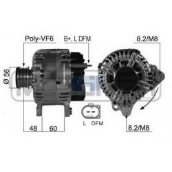 Alternator AUDI A1, A3, A4, TT