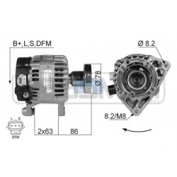 Alternator FORD Focus 1.8TDCi, 2.0 16V