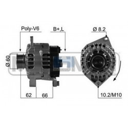 Alternator FIAT Ducato 94-02 diesel