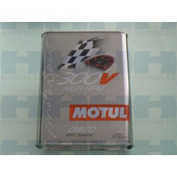 Motorno ulje MOTUL 300V High RPM 0W20